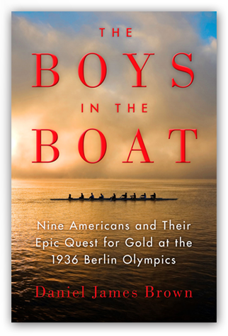 The Boys in the Boat cover from danieljamesbrown.com